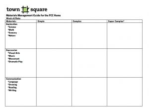 materials management guide screen shot